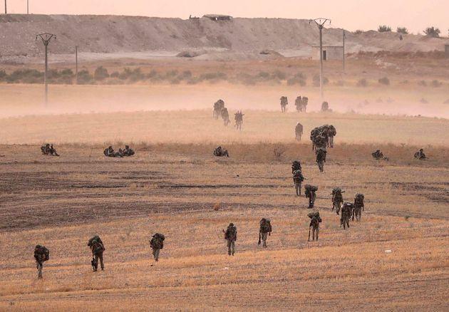 Η κατάσταση στο μέτωπο της βορειοανατολικής Συρίας: Συριακός στρατός και Κούρδοι κατά των ανταρτών που...