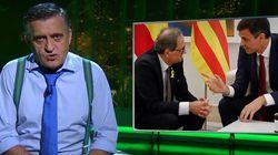 El ruego de Wyoming a los políticos tras ver lo que está sucediendo en Cataluña tras la sentencia del