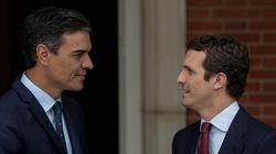Sánchez se entrevista hoy con Casado, Rivera e Iglesias para analizar la situación en