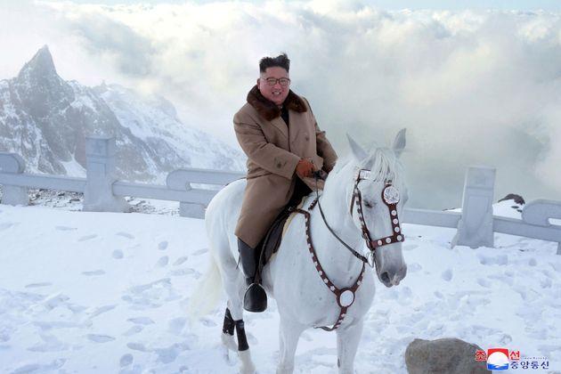 Kim Jong Un au