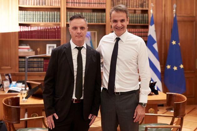 ΟΣτηβ Βρανάκης με τον...