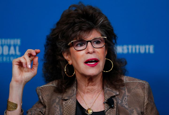 Shoshana Zuboff speaks during the Milken Institute's 22nd annual Global Conference in Beverly Hills, California, on April 30.