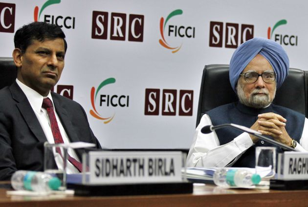 File image of Raghuram Rajan with Dr Manmohan