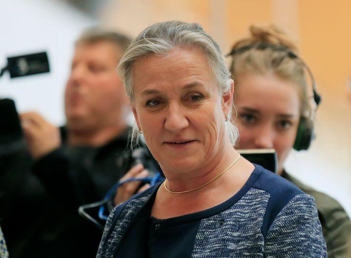 Irène Frachon le 23 septembre lors de l'ouverture du procès Servier