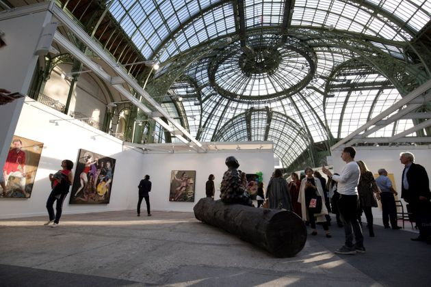 Le Grand Palais en octobre 2018 pendant la Foire Internationale d'Art Contemporain