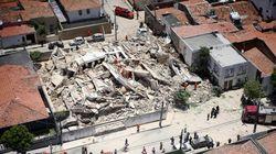 Βραζιλία: Η στιγμή που 7ωροφη πολυκατοικία καταρρέει σαν