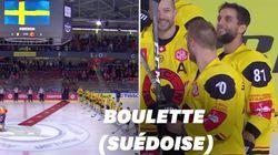 Hockey: Grenoble joue l'hymne suédois... face aux