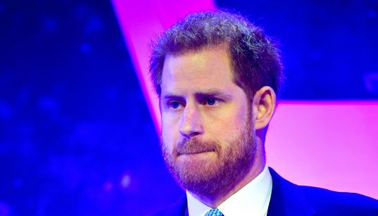 Watch Prince Harry Tear Up As He Talks About Being A
