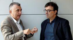 Conversación entre Javier Cercas y Manuel Vilas, con Cataluña de