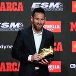 Messi entre un peu plus dans la légende avec son sixième Soulier