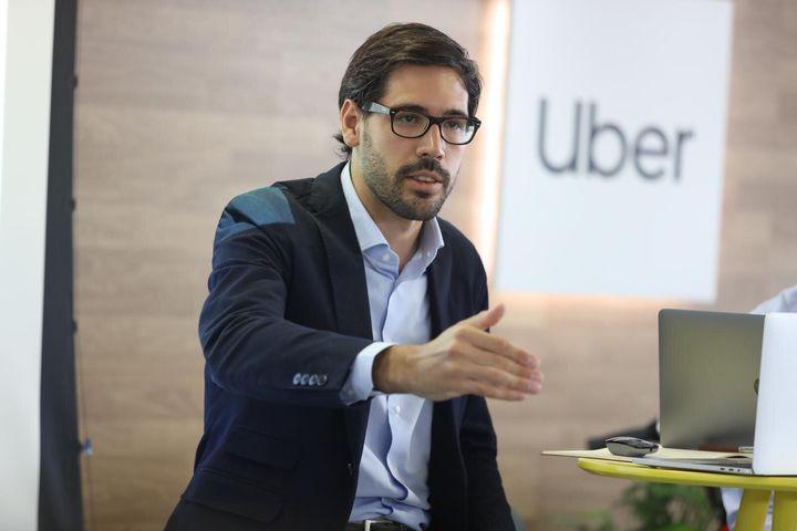 Juan Galiardo, director de Uber en España.