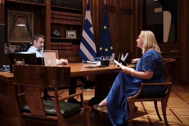 Μητσοτάκης στο Γαλλικό Πρακτορείο: Kυρώσεις στις ευρωπαϊκές χώρες που δεν βοηθούν στο