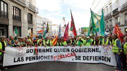 La rebelión de los pensionistas: más de 8.000 se concentran en el Congreso por una prestación