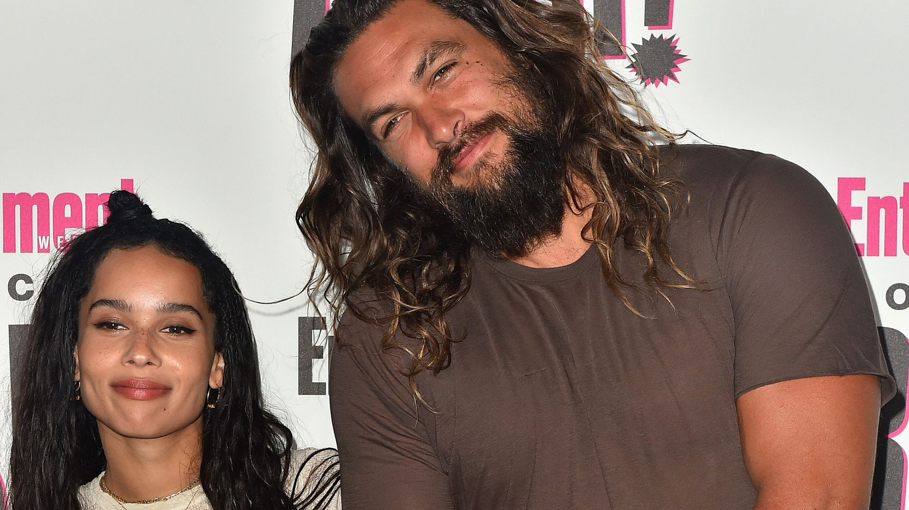 Westlake Legal Group 5da75cc02000009b0d505e44 Jason Momoa Congratulates Zoë Kravitz On Her Catwoman Casting With A Sweet Note