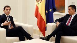 Sánchez traslada a Rivera que el Gobierno