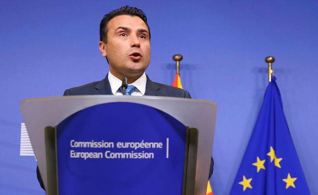 Έκκληση Ζάεφ σε Ε.Ε. για έναρξη των ενταξιακών διαπραγματεύσεων της Βόρειας