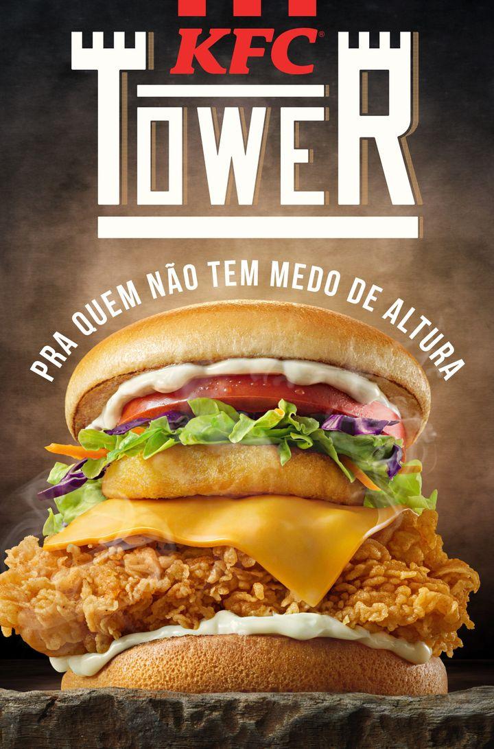 Novo KFC Tower tem cerca de 8 cm de altura.