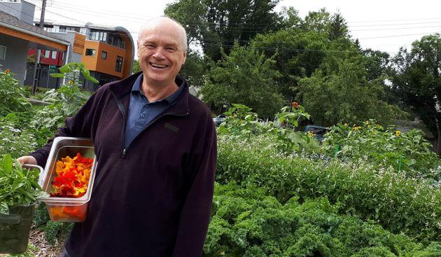 File photo of Edmonton resident Michael Kalmanovitch standing in a