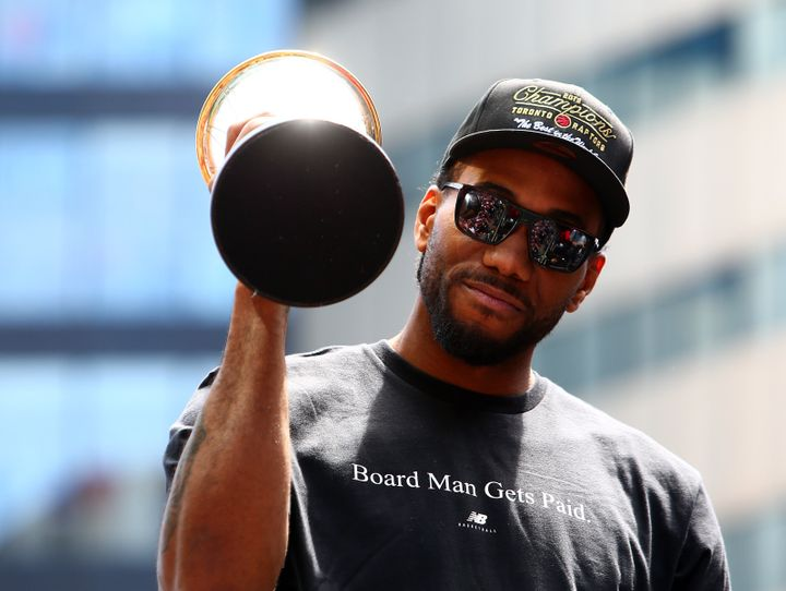 Kawhi Leonard's load management strategy with the Toronto Raptors made headlines.