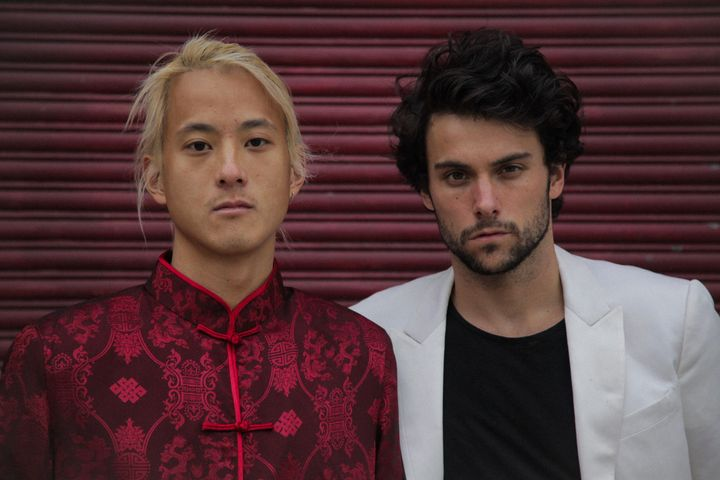 Tim Wu (left), who is best known as the DJ and record producerElephante, teamed up with actor Jack Falaheeto crea