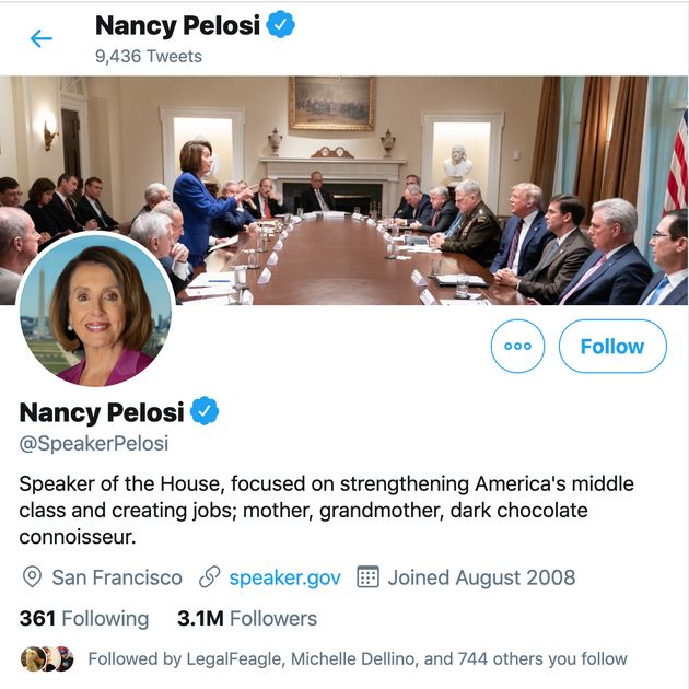 Nancy Pelosi Hilariously Trolls Trump With New Pic On Twitter