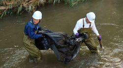 福島の除染ごみ、10袋分の中身が川に流失。市は「問題ない値」と発表