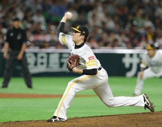 田中正義投手
