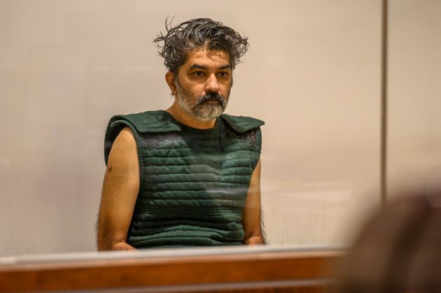 Shankar Hangud, wearing a personal safety vest, appears in the Placer County Superior Court Wednesday,...