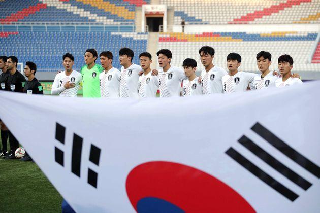 한국 대 북한 경기는 결국 '녹화 중계'로도 볼 수 없게
