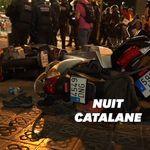 Les Barcelonais affrontent la police pour la 3e nuit