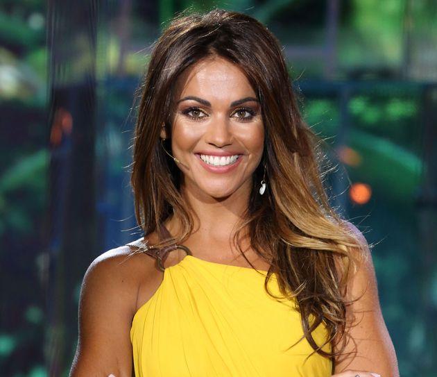 La presentadora Lara Álvarez, en la final de 'Supervivientes' el 18 de julio de