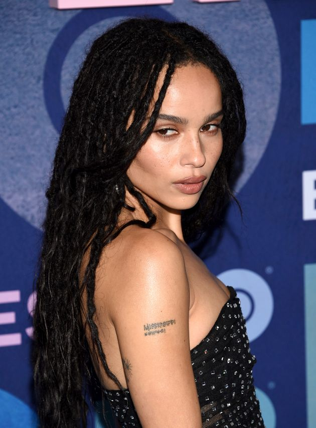 Zoe Kravitz attends the premiere of HBO's