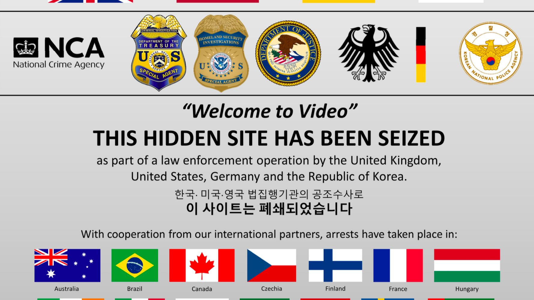 World's Largest Child Pornography Marketplace Taken Down In Global Dragnet