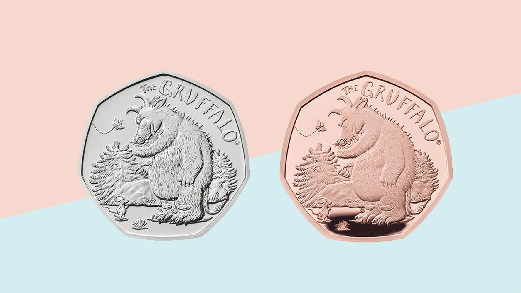 Gruffalo And Mouse 50p Coin Goes On Sale – Buy It Here