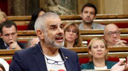 La llamativa camiseta con la que los diputados de Ciudadanos han escuchado a