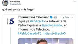 Estos dos tuis de Informativos Telecinco llevan 9.000 'me gusta': la clave es la