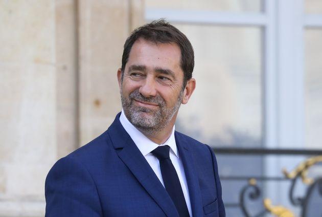 Christophe Castaner, le ministre de l'Intérieur d'Edouard Philippe, depuis un an place