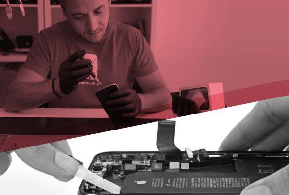 Reparar móviles, una interesante