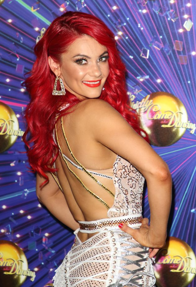 Dianne Buswell at this year's Strictly
