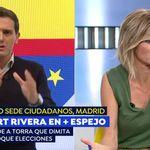 Las cuatro palabras de Susanna Griso que han enfadado a Albert Rivera en 'Espejo