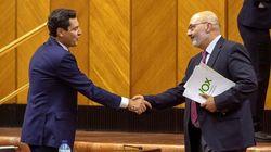 Vox pacta con PP y Ciudadanos los presupuestos andaluces de