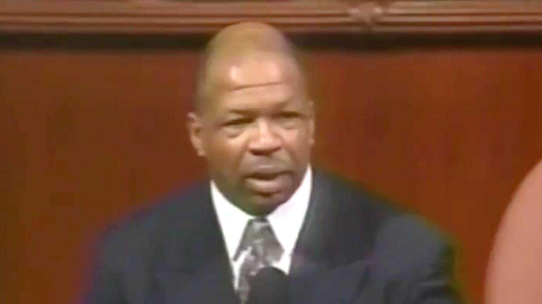 Westlake Legal Group 5da872802000000210505f9e Elijah Cummings' Poetic First Speech On The House Floor Goes Viral