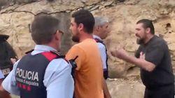 Tensión entre Mossos, conductores y manifestantes: