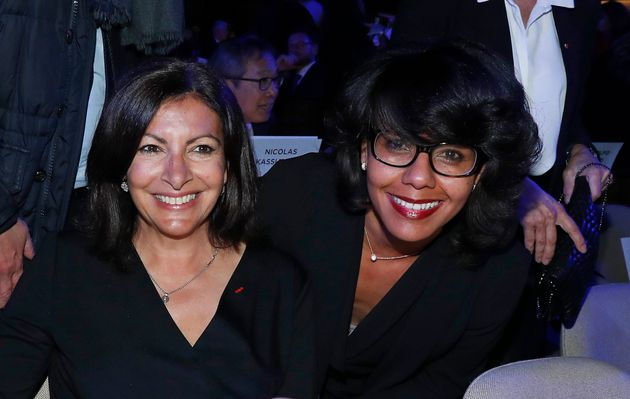 Anne Hidalgo et Audrey Pulvar réunies début 2019 pour une cérémonie à...