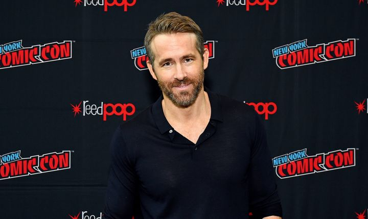 Ryan Reynolds didn't endorse a candidate, but he hinted at the party whose climate change policies he agrees with.