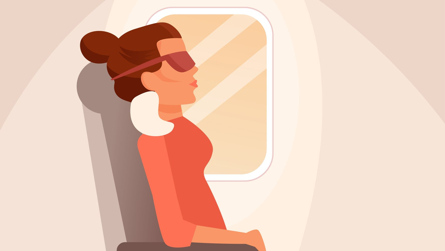 How To Sleep Better On Planes