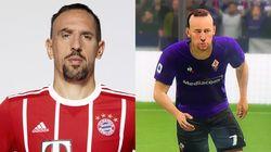 Ribéry n'aime pas trop sa tête dans FIFA 2020 (et on le