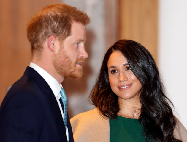 Prince Harry and Meghan, who looks amazing, period, attend the WellChild awards at the Royal Lancaster