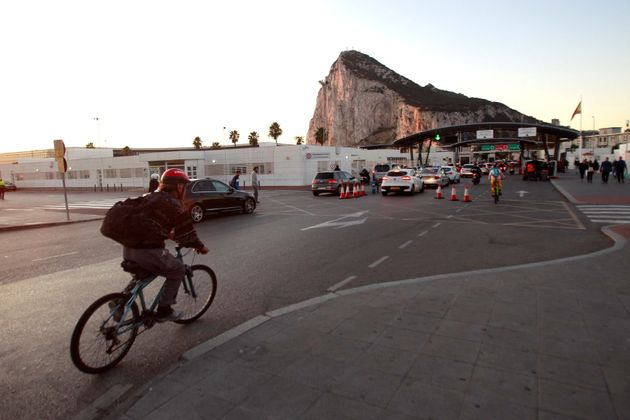 Vista de la entrada a Gibraltar, este