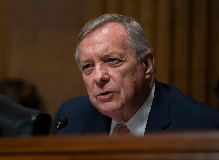 Sen. Dick Durbin (D-Ill.) is wondering what is up with all these unqualified people getting lifetime appointments to federal